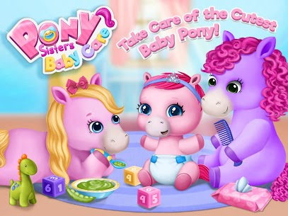 Pony Sisters Baby Horse Care – Babysitter Daycare 9