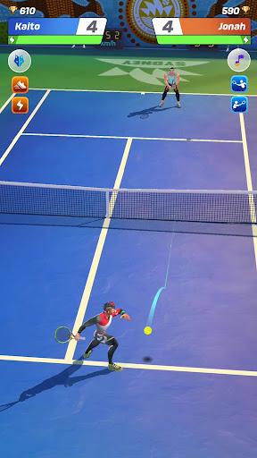 Tennis Clash: 3D Sports - Jeux Gratuits APK MOD screenshots hack proof 1
