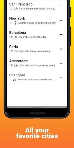 Bowvie Weather u2013 Live Weather alerts and Forecast 2.2.6 screenshots 4