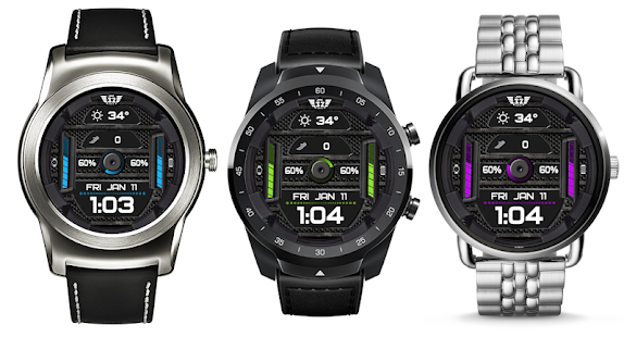 Download Z SHOCK 12 color changer watchface for WatchMaker For PC Windows and Mac apk screenshot 8