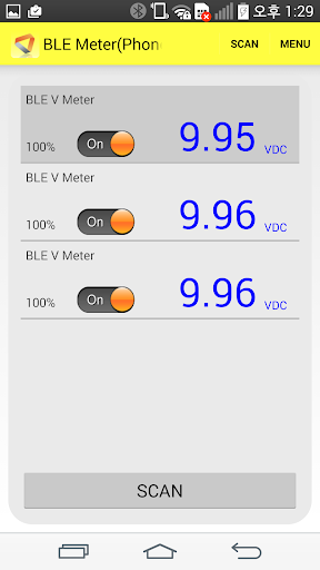 BLE Meter And Logger