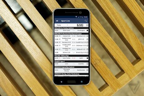 Sport Live Score - náhled