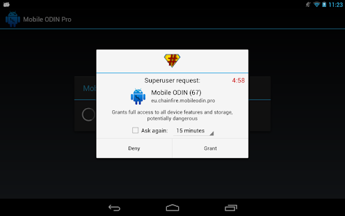 SuperSU Pro Screenshot