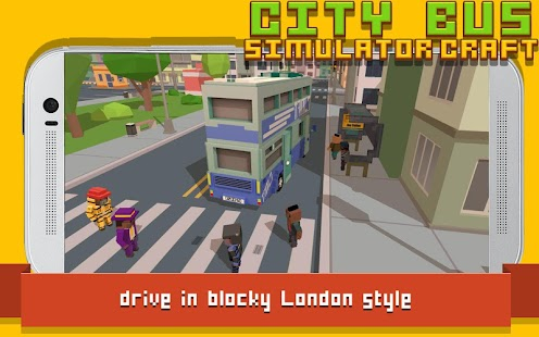 ApkMod1.Com City Bus Simulator Craft + (Mod Money) for Android Game Simulation