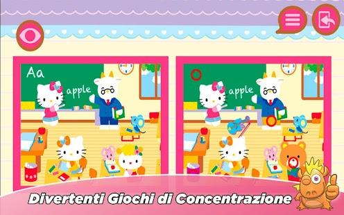 Hello Kitty gioco educativo Screenshot