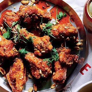 Crab Fat-Caramel Wings