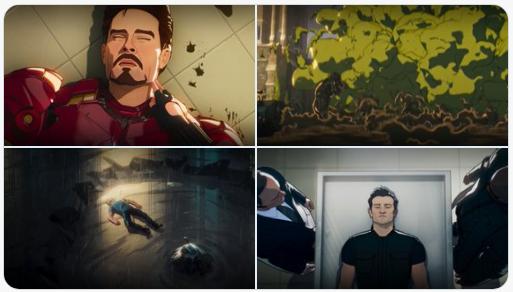 """Viúva Negra e Nick Fury tentam salvar os Vingadores de uma série de assassinatos no terceiro episódio da série """"What If…"""". Confira!"""