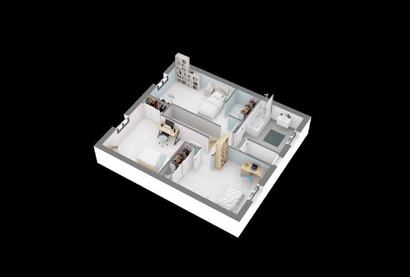 Vente Terrain + Maison - Terrain : 246m² - Maison : 104m² à Dourdan (91410)