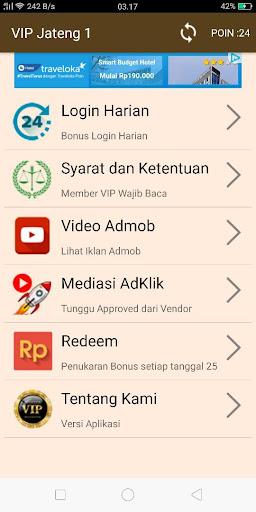 VIP JATENG 1 3.0 screenshots 1
