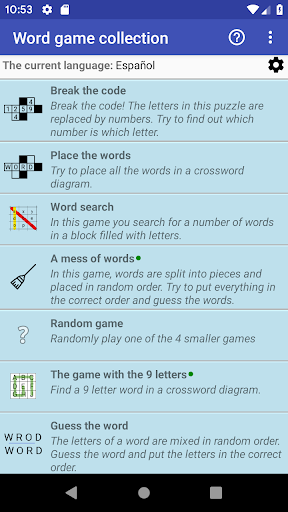 Word Game Collection(Free) filehippodl screenshot 1