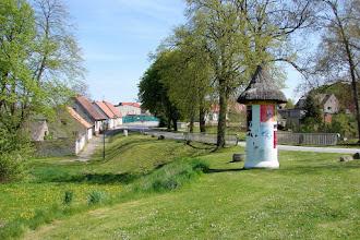 Photo: Orsteingang von Garz aus Samtens (Schleuse)