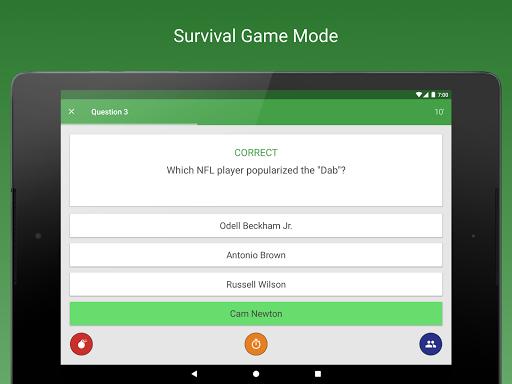 Sports Fan Quiz - NFL, NBA, MLB, NHL, FIFA, + apkpoly screenshots 8