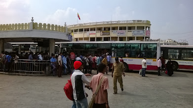 Photo: Mysore autobusák