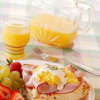 Breakfast Ham Focaccia.