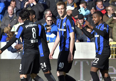 Le Club de Bruges se reprend et surclasse Zulte-Waregem !
