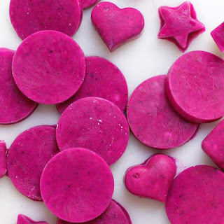 3-ingredient Dragon Fruit Protein Workout Wafers.