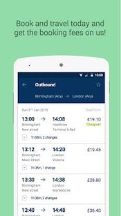 thetrainline – times & tickets - screenshot thumbnail