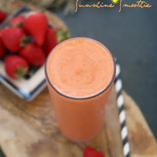Sunshine Smoothie.