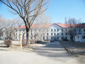 Photo: a warm and sunny morning in QRRS Dorm, benzrad just after breakfast in canteen. here the dorm 1st where benzrad dwelt.