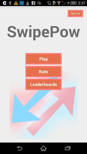 Swipe Pow