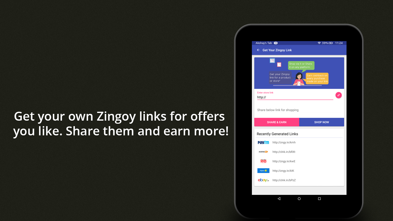 Zingoy - Cashback & Gift Cards- screenshot