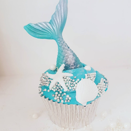 Mermaid Cupcake by Lilli Oliver Cakes in Manchester