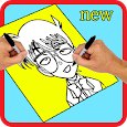 how to draw conan ido icon