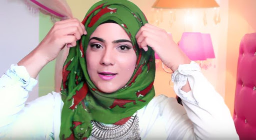 ربطات الحجاب خطوة بخطوة