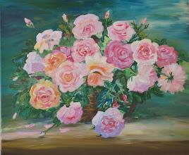 Photo: корзина с цветами