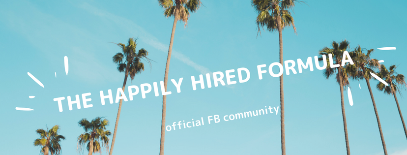 happily hired formula fb group
