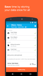 Wanderio: Train, Flight and Bus tickets in Italy - náhled