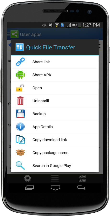 Apk App Share- screenshot