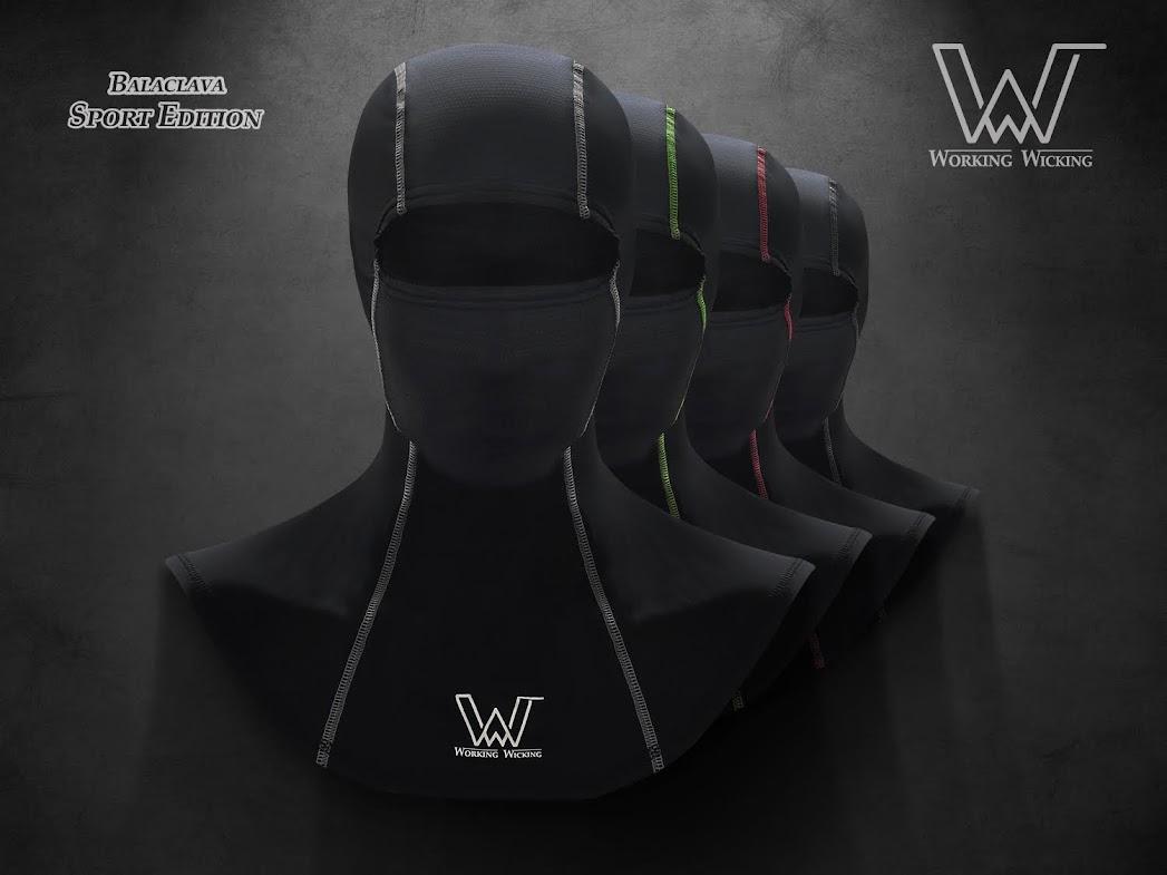 Working Wicking  ผ้าคลุมศรีษะ   BALACLAVA Mask Sport edition