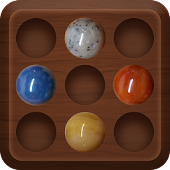 Marble Solitaire : Brainvita Peg Board Game