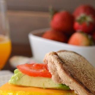 Vegetarian McMuffin Sandwich