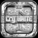 Next Launcher Theme WhiteCry icon