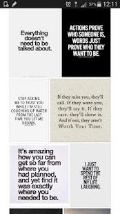 Quotes of Instagram screenshot