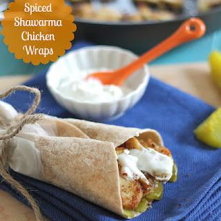Spiced Shawarma Chicken Wraps SHAWARMA DAJAJ