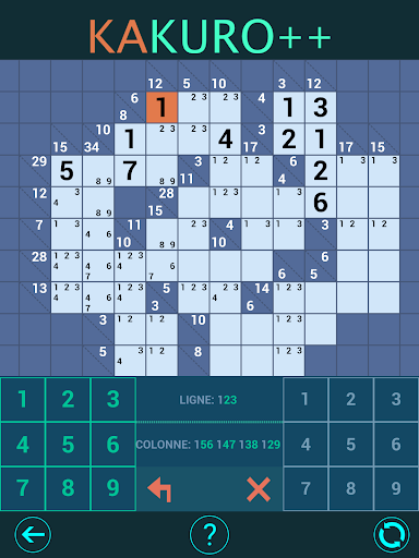 Kakuro Plus. Cross-Sums. For beginners to experts. android2mod screenshots 8