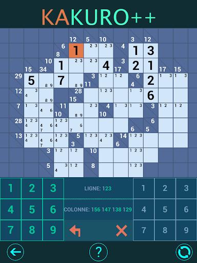 Kakuro Plus. Cross-Sums. 1.4.0 screenshots 8