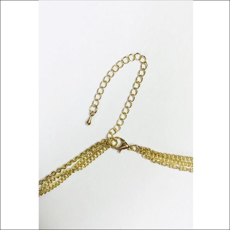 N020 - G. Trichotomous Summer Necklace