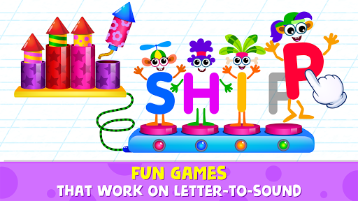 Phonics: Reading Games for Kids & Spelling Apps 이미지[3]