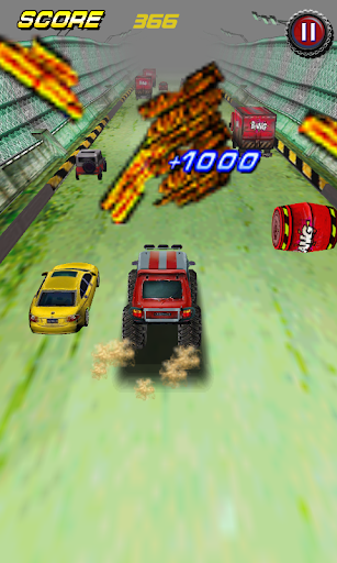 Racing car monster smash free