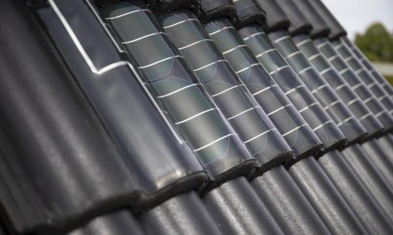 Dachówka fotowoltaiczna - słoneczna - produkująca prąd