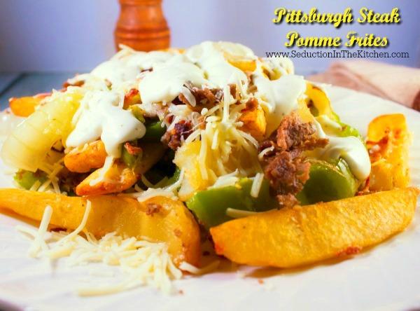 Pittsburgh Steak Pomme Frites Recipe