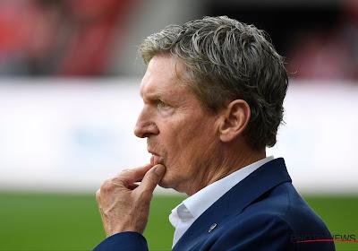 """Francky Dury déçu : """"La carte rouge n'a pas influencé le match"""""""