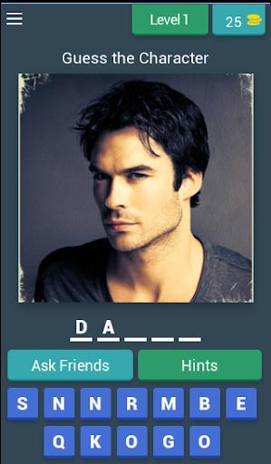 Vampire Diaries Quiz (Fan Made) 3.14.8z screenshots 1