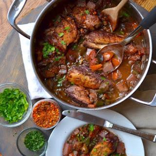 Sicilian Chicken.