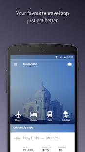 MakeMyTrip-Flights Hotel IRCTC- screenshot thumbnail