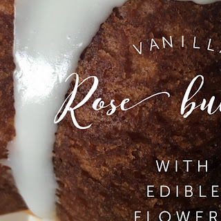 Vanilla Rose Bundt.